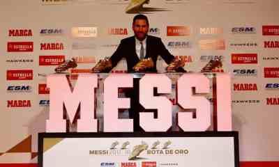 Lionel Messi scarpa d'oro 2018