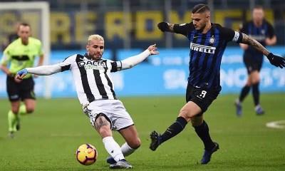 Mauro Icardi-Valon Behrami Inter-Udinese