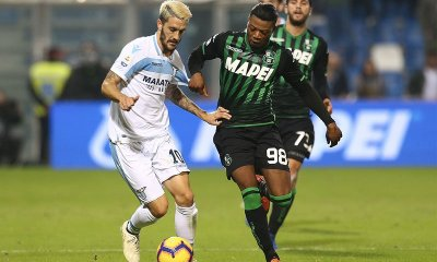Luis Alberto Adjapong Sassuolo-Lazio