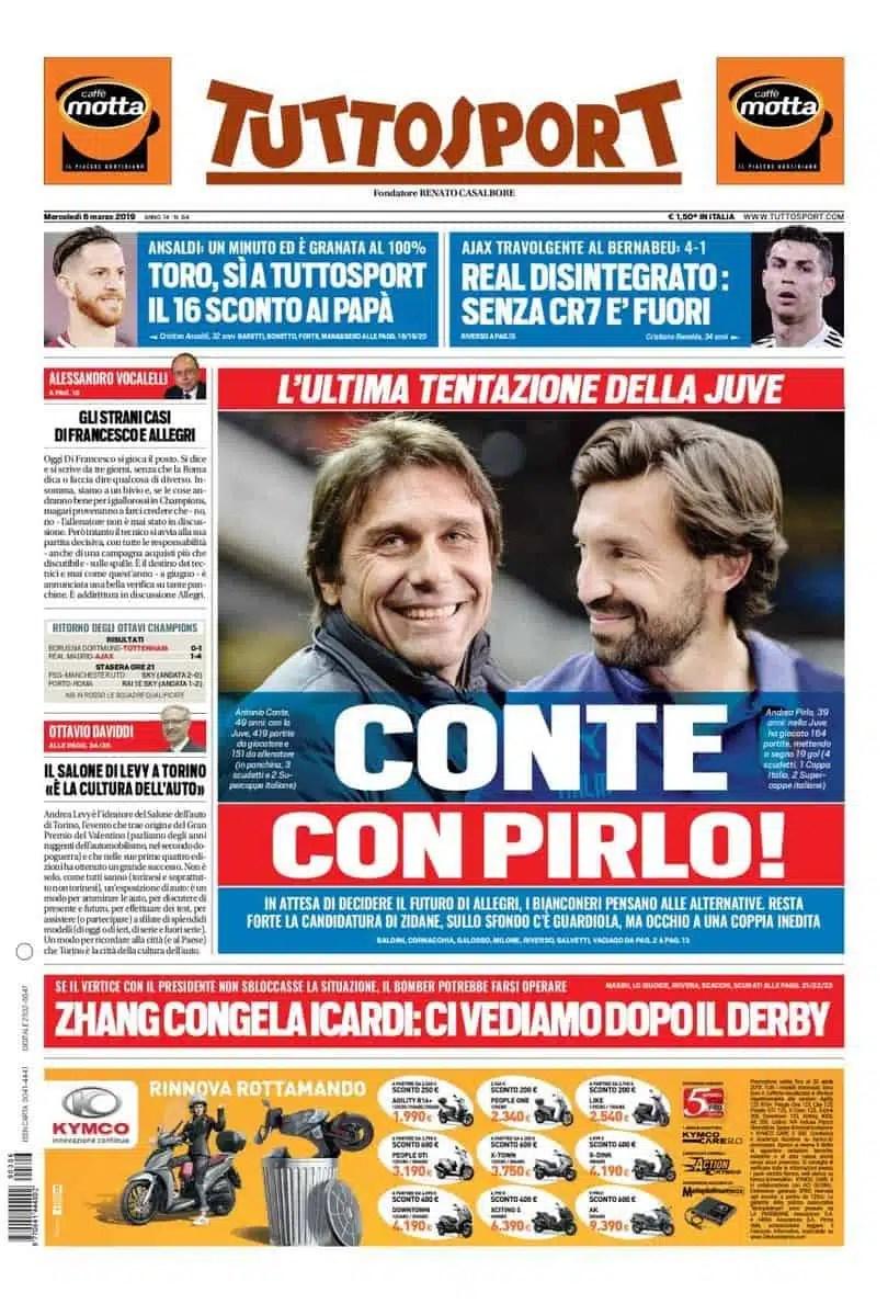 prima-pagina-tuttosport-6-3-2019