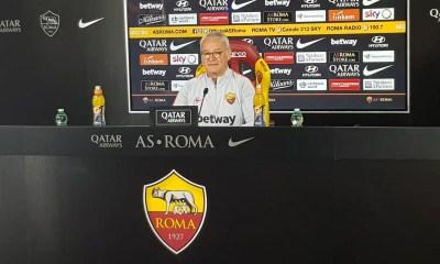 Claudio Ranieri conferenza stampa Roma