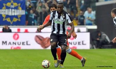 Stefano Okaka attaccante Udinese