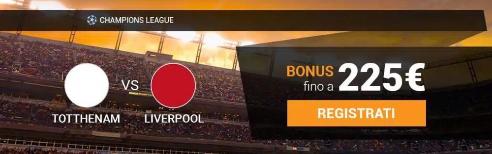 Tottenham-Liverpool finale Champions League