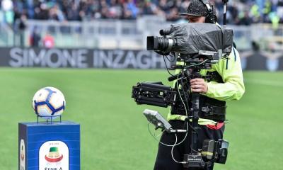 pallone telecamera tv Serie A