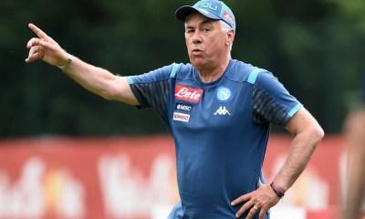 Carlo Ancelotti allenatore Napoli