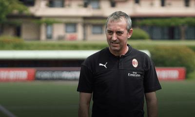 Marco Giampaolo allenatore Milan
