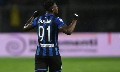 esultanza gol Duvan Zapata atalanta
