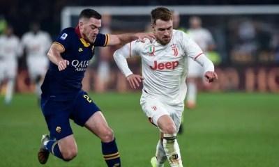 Aaron Ramsey-Jordan Veretout Roma-Juventus
