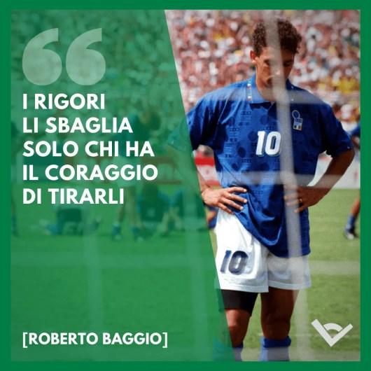 Roberto Baggio frasi calcio