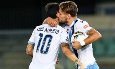 Ciro Immobile Luis Alberto esultanza Lazio