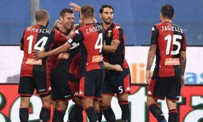 Genoa esultanza gol