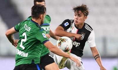 Paulo Dybala-Rafael Toloi Juventus-Atalanta