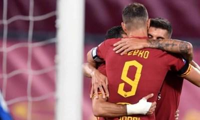 esultanza Dzeko gol Roma