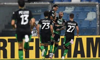 esultanza gol Francesco Caputo Sassuolo
