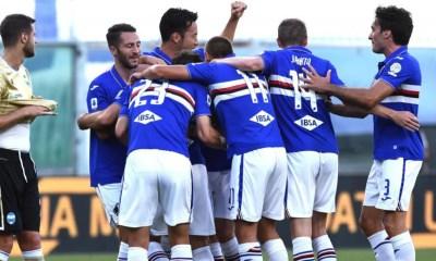 esultanza gol Sampdoria