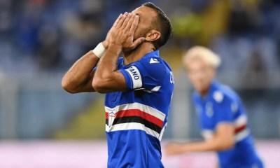 Delusione Fabio Quagliarella Sampdoria
