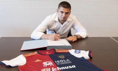 Marin firma Cagliari