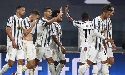 esultanza gol Cristiano Ronaldo giocatori Juventus
