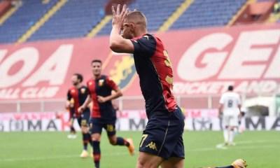 esultanza gol Marko Pjaca Genoa