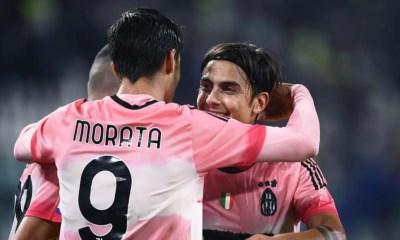 Alvaro Morata-Paulo Dybala Juventus