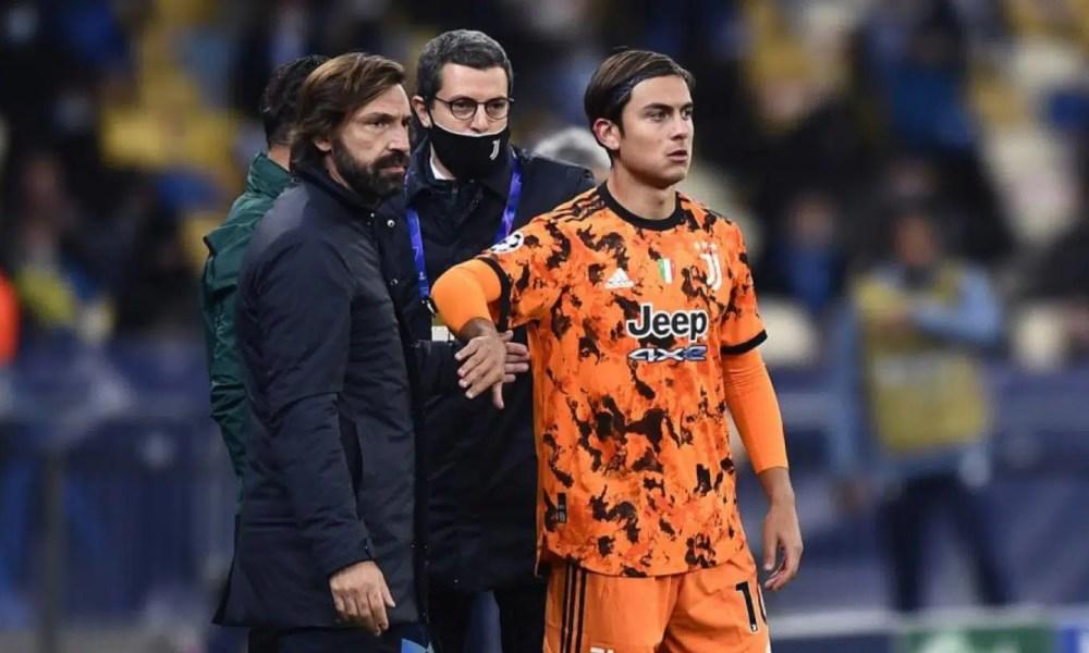 Andrea Pirlo-Paulo Dybala Juventus