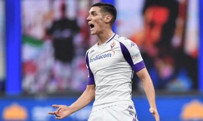 Milenkovic esultanza Fiorentina