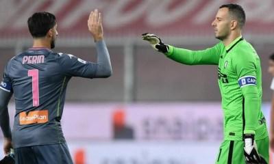 Samir Handanovic-Mattia Perin Portieri Genoa Inter