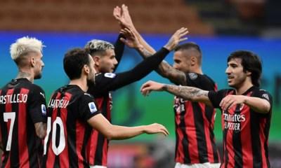 esultanza fine gara Milan