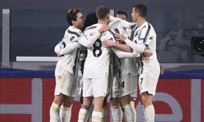 Esultanza gol Juventus