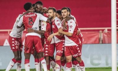 Giocatori Monaco Ligue 1 esultanza