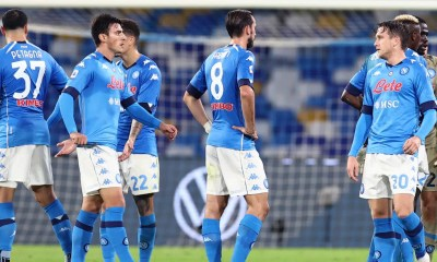 delusione giocatori Napoli