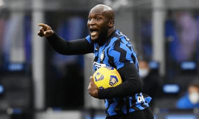esultanza gol Romelu Lukaku Inter