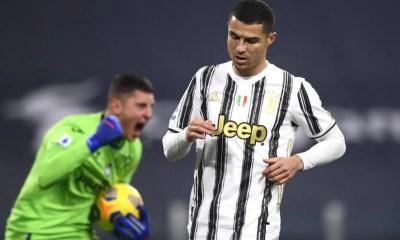 Cristiano Ronaldo-Pierluigi Gollini Juventus-Atalanta