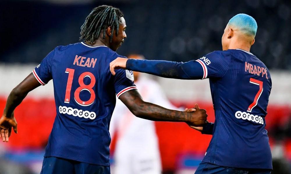 Kean Mbappe Psg Ligue 1