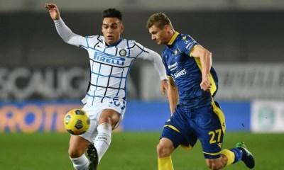 Lautaro Martinez-Pawel Dawidowicz Verona-Inter