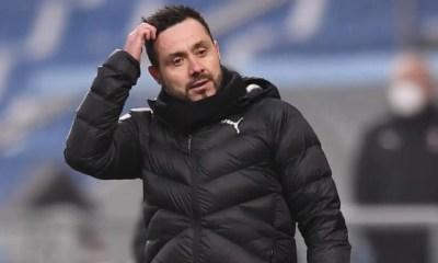 Roberto De Zerbi Sassuolo