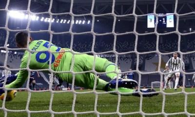 Ronaldo-Gollini rigore Juventus-Atalanta
