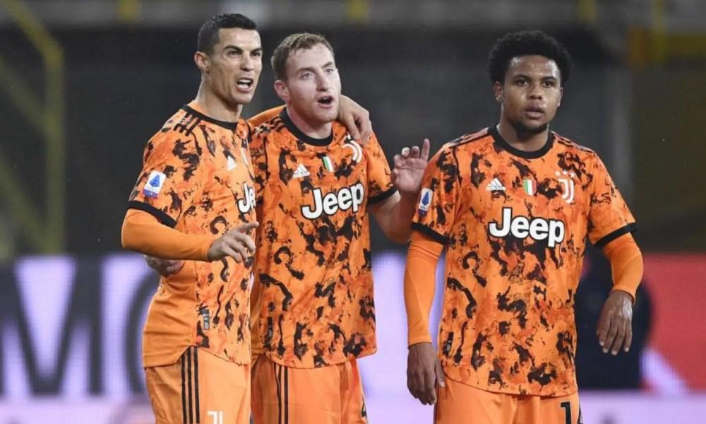 Ronaldo Kulusevski Mckennie Juventus