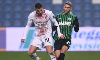 Theo Hernandez-Domenico Berardi Sassuolo-Milan