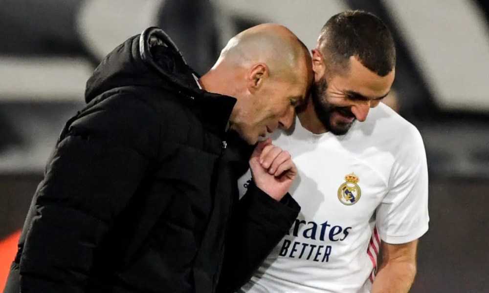 Zidane Benzema Real Madrid