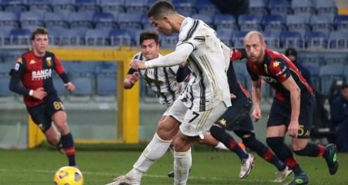 gol rigore Cristiano Ronaldo Genoa-Juventus