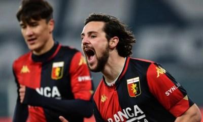 Esultanza Mattia Destro Genoa