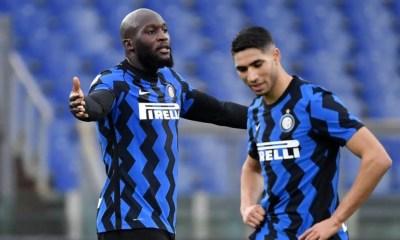 Romelu Lukaku-Achraf Hakimi Inter