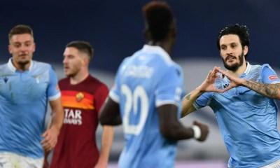 esultanza gol Luis Alberto Lazio-Roma