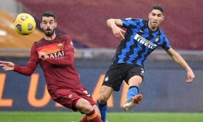 gol Achraf Hakimi Roma-Inter