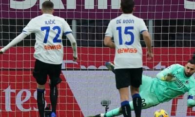 gol rigore Ilicic Milan-Atalanta