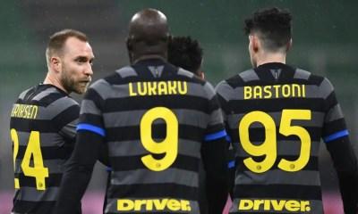 Eriksen Lukaku Bastoni Inter