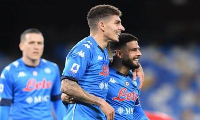 Esultanza Di Lorenzo Insigne Napoli