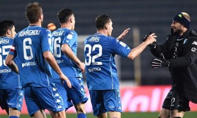 Esultanza giocatori Empoli Serie B