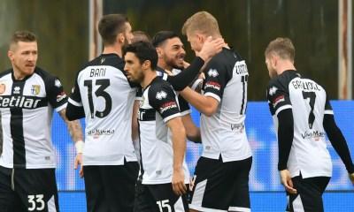 Esultanza gol Cornelius Parma